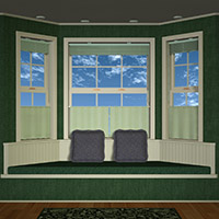 Bay Window Props & Pose Set 3D Models 3D Figure Essentials Richabri