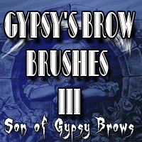 Gypsy's Brow Brushes 3 2D Graphics gypsyangel