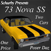 73 Nova SS Transportation Themed Schurby