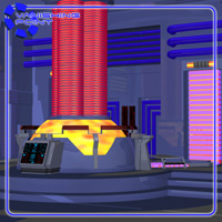 Starship Engineering Room (for Poser) image 2