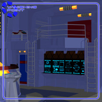 Starship Engineering Room (for Poser) image 4