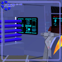 Starship Engineering Room (for Poser) image 6