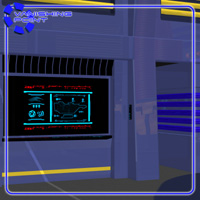 Starship Engineering Room (for Poser) image 7