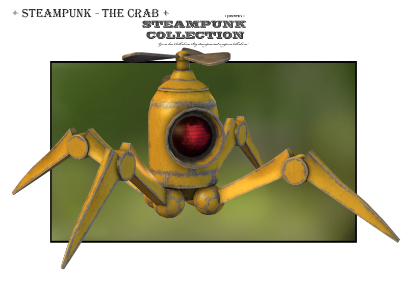 SteamPunk Robots - The Crab