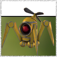 SteamPunk Robots - The Crab 3D Models jonnte