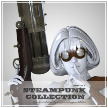 SteamPunk - BFG Themed Props/Scenes/Architecture Software jonnte