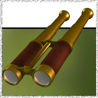 SteamPunk - Binoculars 3D Models 3D Figure Essentials jonnte