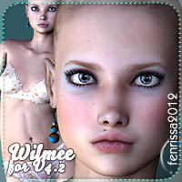 Wilmee for V4.2 3D Figure Essentials _Fenrissa_