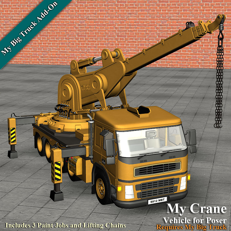 My Crane for My Big Truck