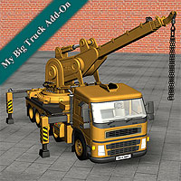 My Crane for My Big Truck 3D Models Simon-3D