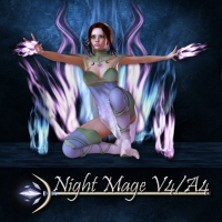 Night Mage 3D Figure Essentials 3DTubeMagic