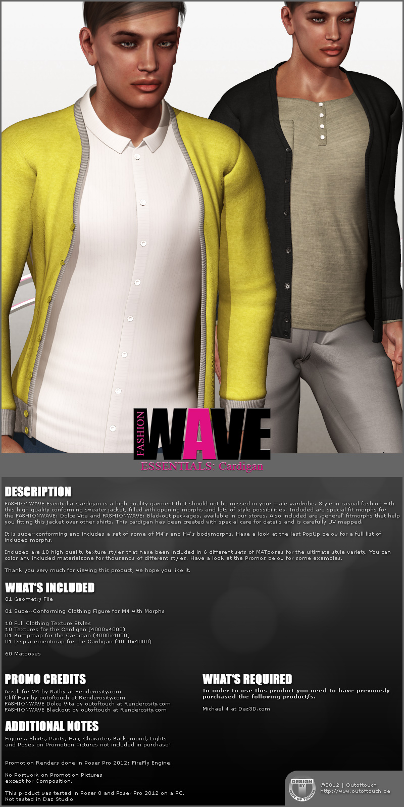 FASHIONWAVE Essentials: Cardigan M4 H4