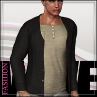 FASHIONWAVE Essentials: Cardigan M4 H4 3D Models 3D Figure Assets outoftouch