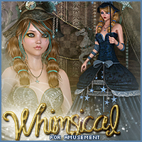 Whimsical for Amusement 3D Figure Assets Sveva