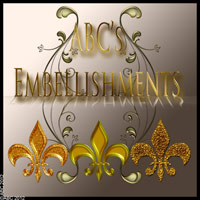ABC Embellishments Themed 2D And/Or Merchant Resources Bez