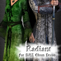 Radiant for the Elven Dress 3D Figure Essentials fuseling