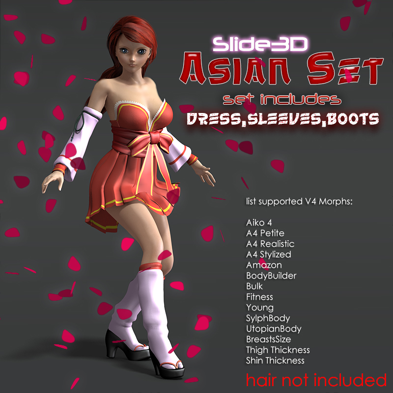 Slide3D Asian Set