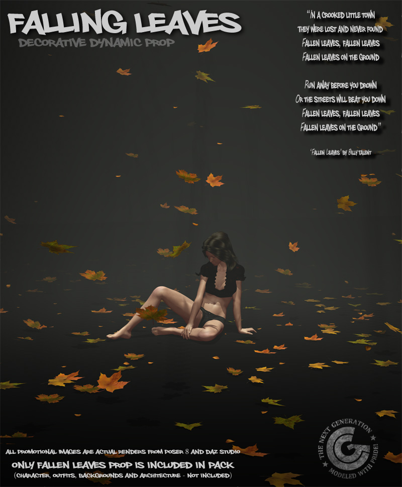 Falling Leaves_Dynamic Prop by coflek-gnorg