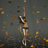 Falling Leaves_Dynamic Prop 3D Models coflek-gnorg