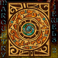 Harvest Moons Marquetry Jewels II 2D 3D Models MOONWOLFII
