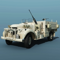 LRDG Canadian Chevrolet ( for Vue ) Software 3D Models Nationale7