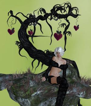 Magic Tree 3D Figure Assets 3D Models SWAM