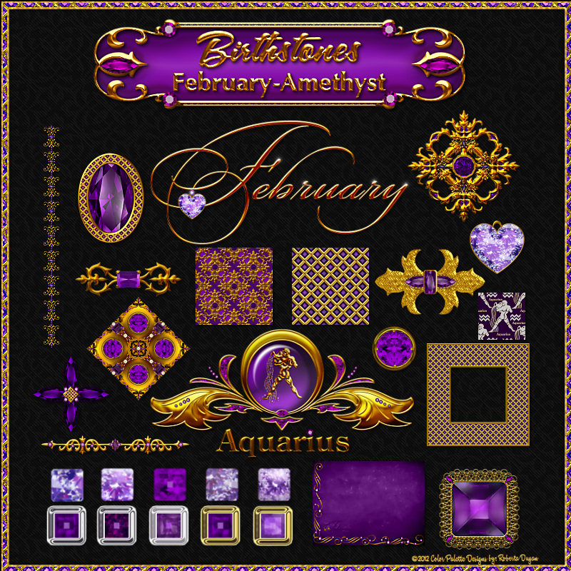 Birthstone Bling!: February-Amethyst