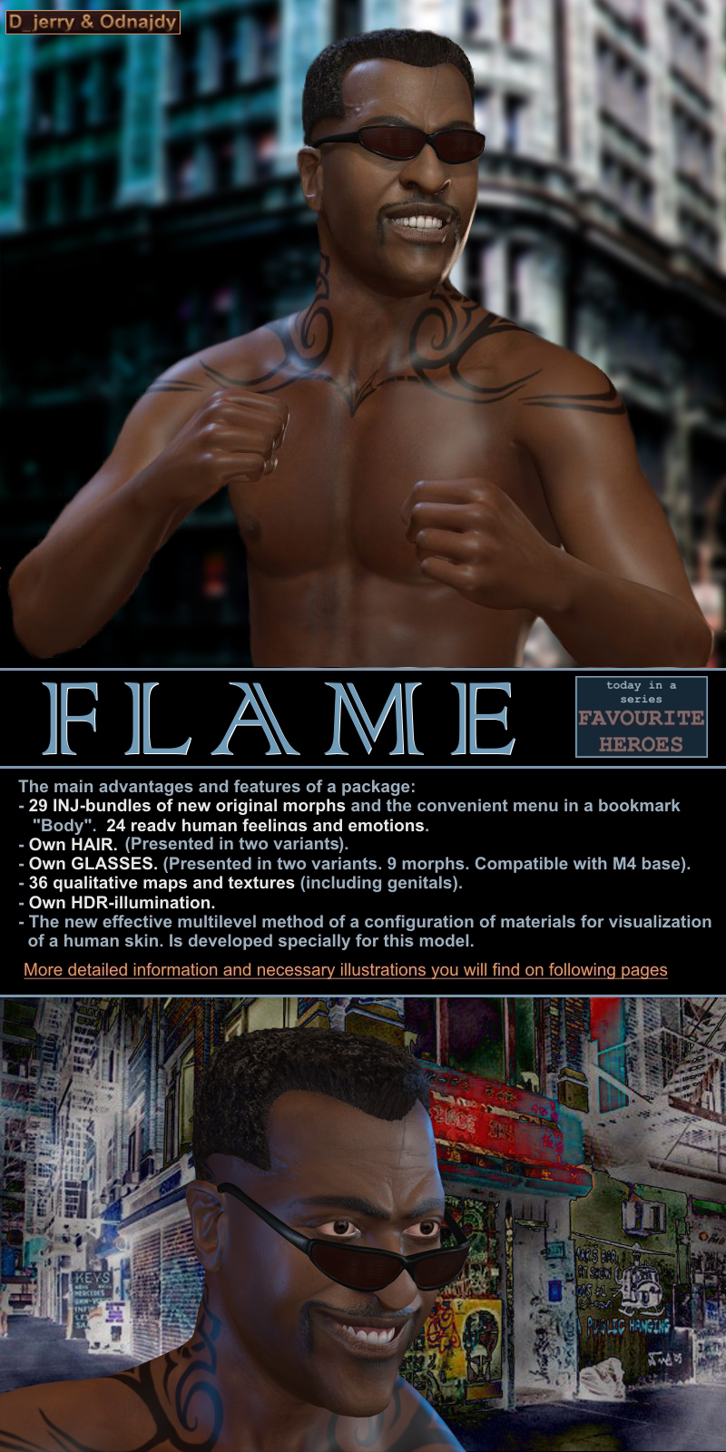 FLAME for M4 by odnajdy