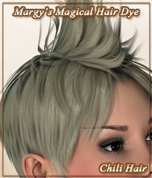 Margy's Magical Hair Dye for Chili Hair 3D Figure Assets MargyThunderstorm