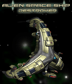 Alien Destroyer Class 3D Models Simon-3D