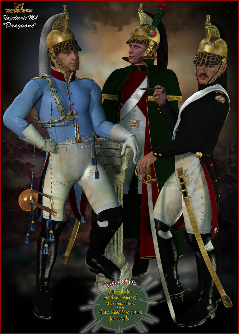 RT-Napoleonic M4 - Dragoons UPGRADE