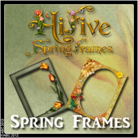 Hi-5 Spring Frames 2D And/Or Merchant Resources Themed Bez