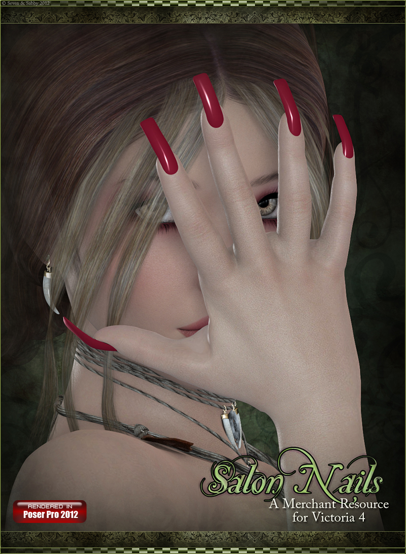 SV7 Fantasy Bazaar - Salon Nails
