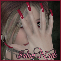 SV7 Fantasy Bazaar - Salon Nails 3D Figure Assets Seven