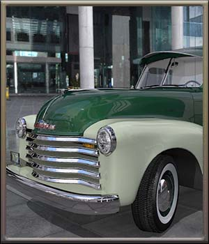 1951 Chevy Panel Van by DreamlandModels
