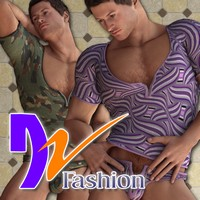 DZ Zip Undies for M4H4Guy4 3D Figure Essentials dzheng