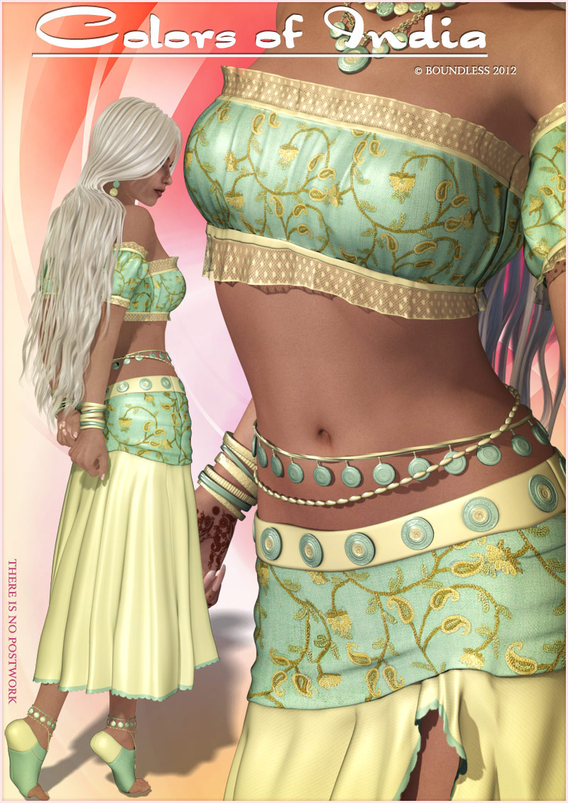 7f4addb46c Colors of India - for Gy[sy Love Outfit 3D Figure Assets boundless