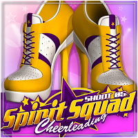 SHOOT 05: Spirit Squad Sporty Heels 3D Figure Assets ShanasSoulmate