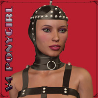 V4 Ponygirl Outfit & Props 3D Figure Essentials 3D Models $4.99 Sale Items Week 2 Richabri