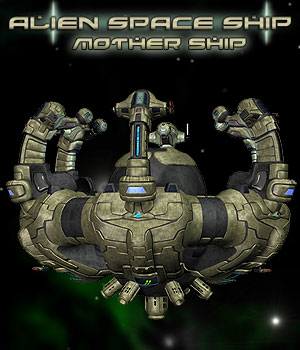 Alien Mother Space Ship 3D Models Simon-3D