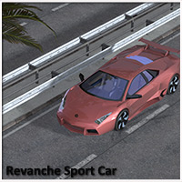 Revanche Sport Car for Poser and Vue 3D Models RPublishing
