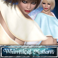 Whimsical Motions Vol1 3D Figure Assets PandyGirl