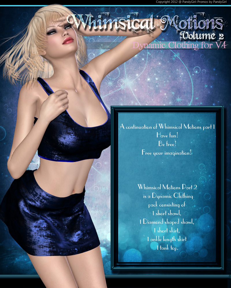 Whimsical Motions Vol2 by PandyGirl