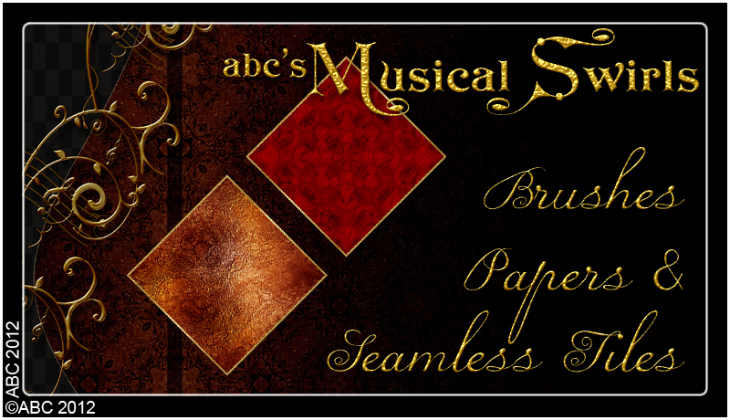 ABC Musical Swirls