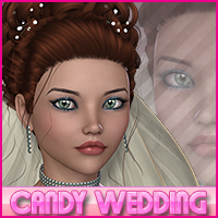 Candy Wedding Updo 3D Figure Essentials Sveva