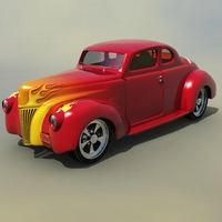 FORD COUPE 1940 HotRod ( for Vue ) 3D Models Software Nationale7