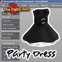 Party Dress Tutorials : Learn 3D Fugazi1968