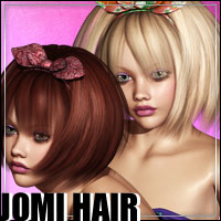 Jomi Hair 3D Figure Essentials outoftouch