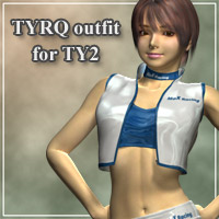 TYRQ outfit for TY2 3D Figure Essentials kobamax