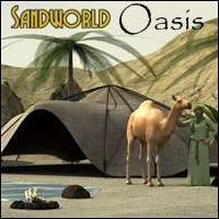 Sandworld - Oasis Props/Scenes/Architecture Software 3-d-c